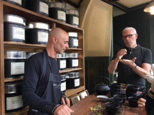 Harold Hamersma on Tea at Arte & Zayne