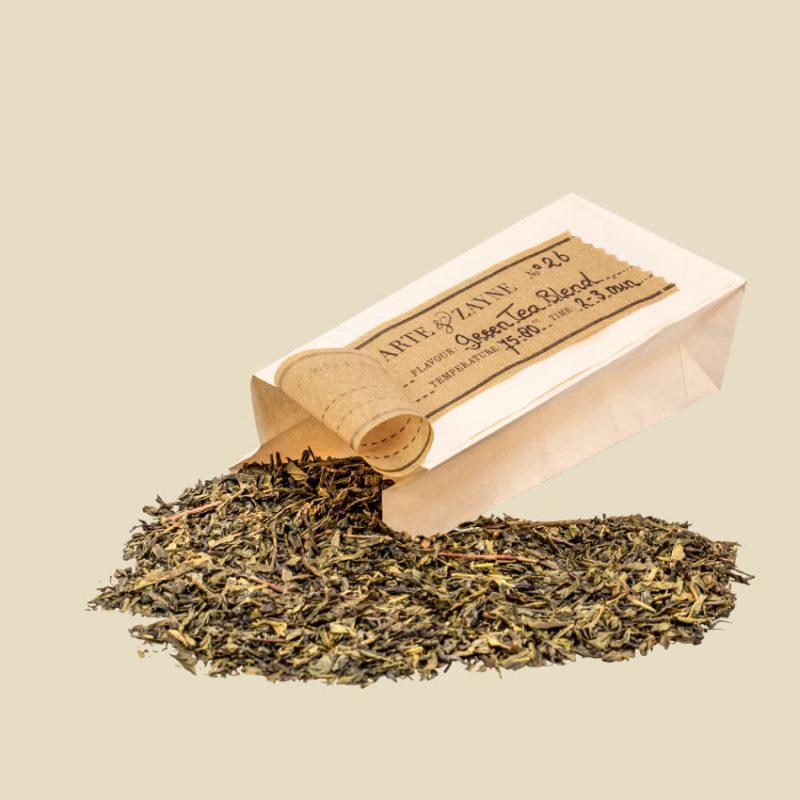 Twisted Harmony No.26 Nachfüllbeutel Grüner Tee || Arte & Zayne