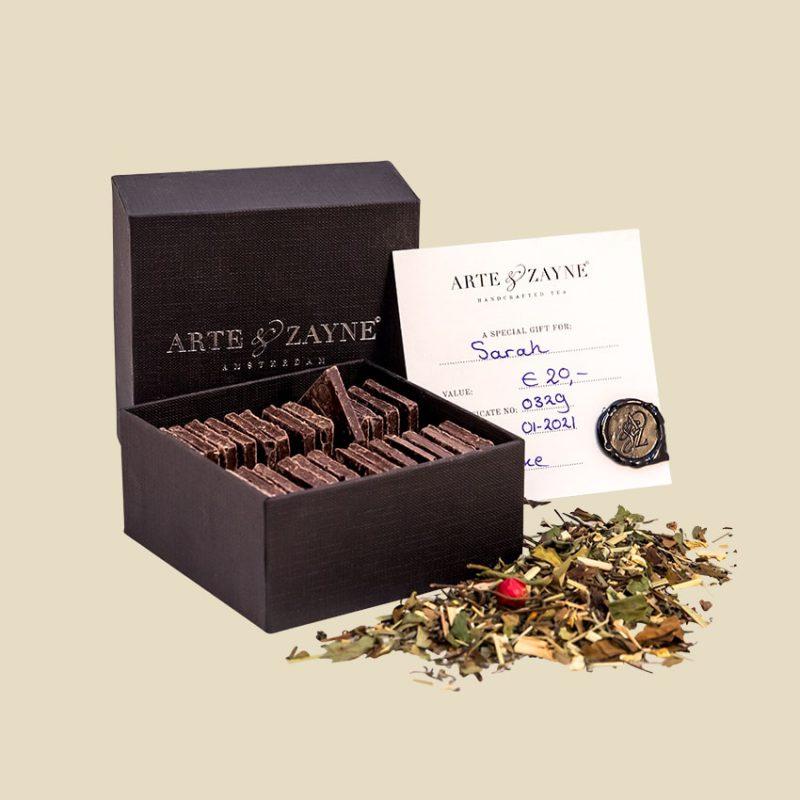 Chocolates and a Gift Card || Arte & Zayne