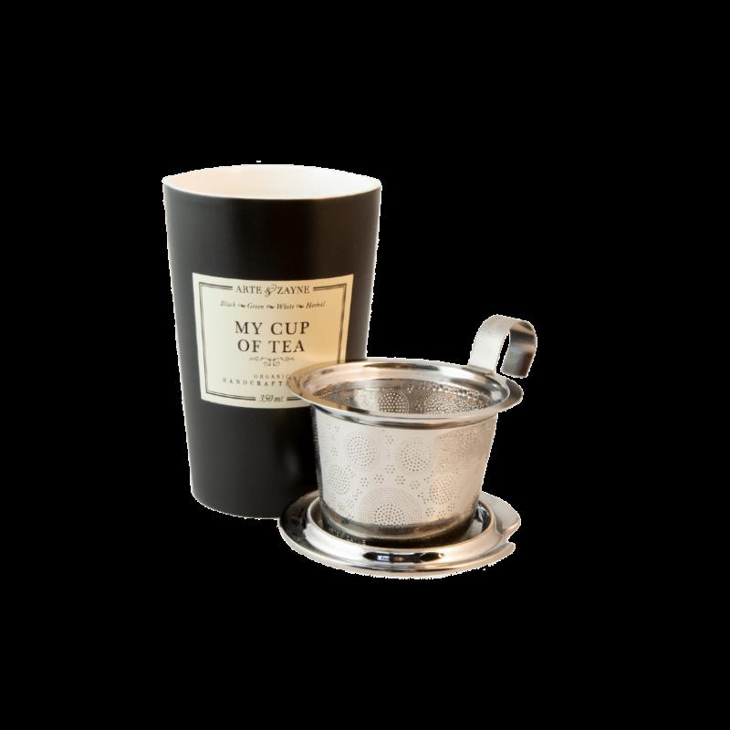 Doppelwandige Teetasse mit Teesieb || Arte & Zayne