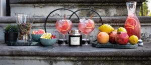 Grapefruit Pomegranate Iced Tea with No 20 || Es Vedrá Sunset